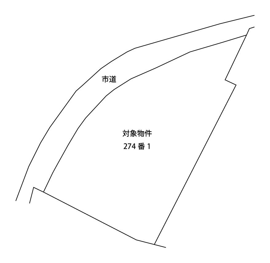 売土地・別府市野田